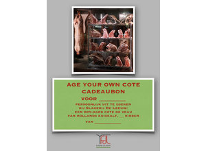 Age your own cote cadeaubon