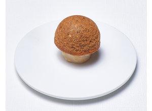 Wintertruffelcake/gepofte knolselderij (vegetarische amuse)