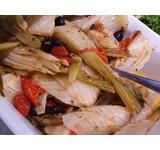 Geroosterde venkel/paprika Taggiasca-olijf