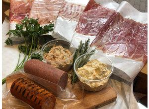 Vers, ambachtelijk vleeswarenpakket (voor ca. 1 week)