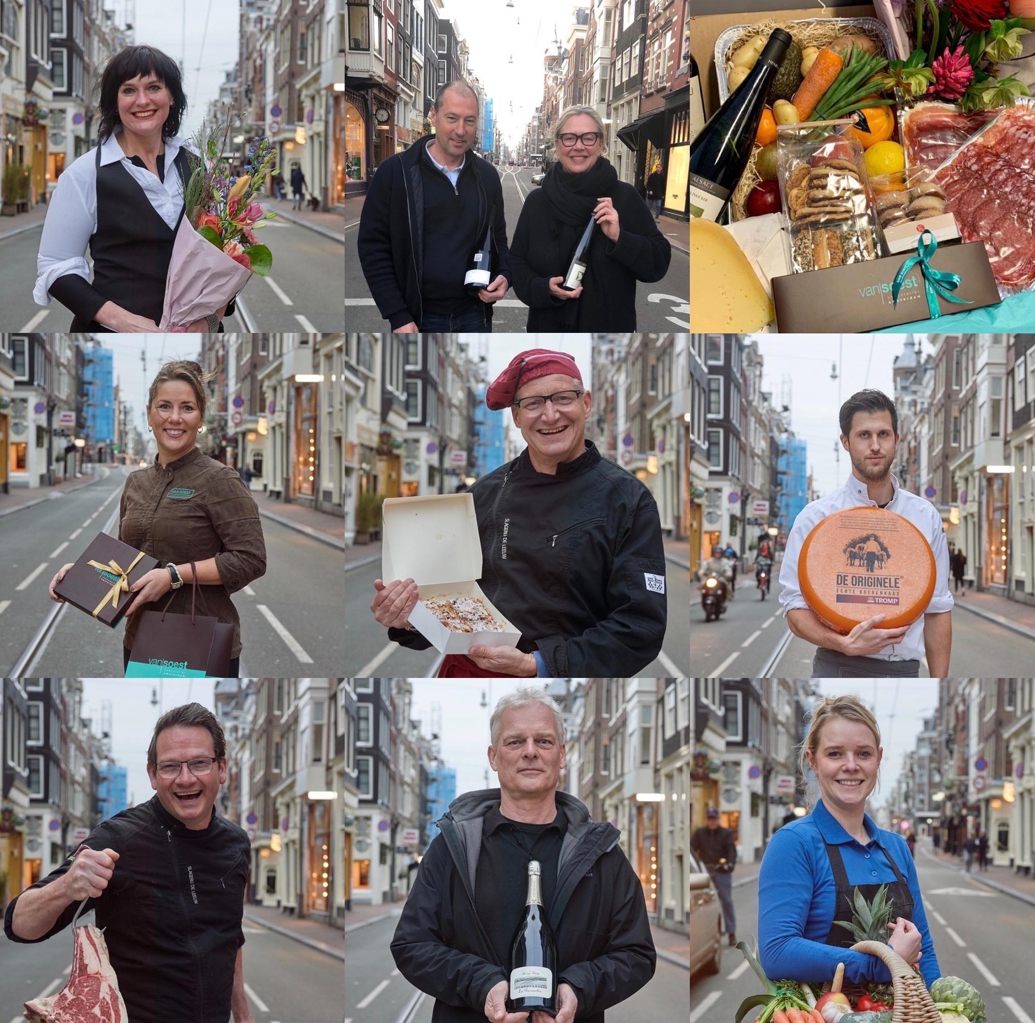 Verspakket Amsterdam: de 8 ondernemers Utrechtsestraat