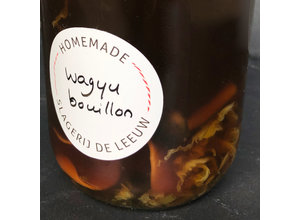 'SdL' Wagyu runderbouillon incl. klein garnituur