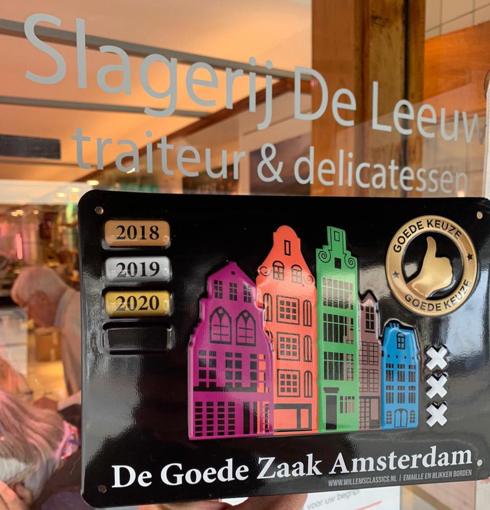 Keurmerk St. De Goede Zaak Amsterdam