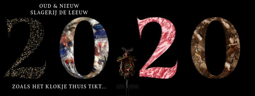 Oudjaar New Years Eve Slagerij De Leeuw Amsterdam