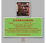 Age your own cote cadeaubon