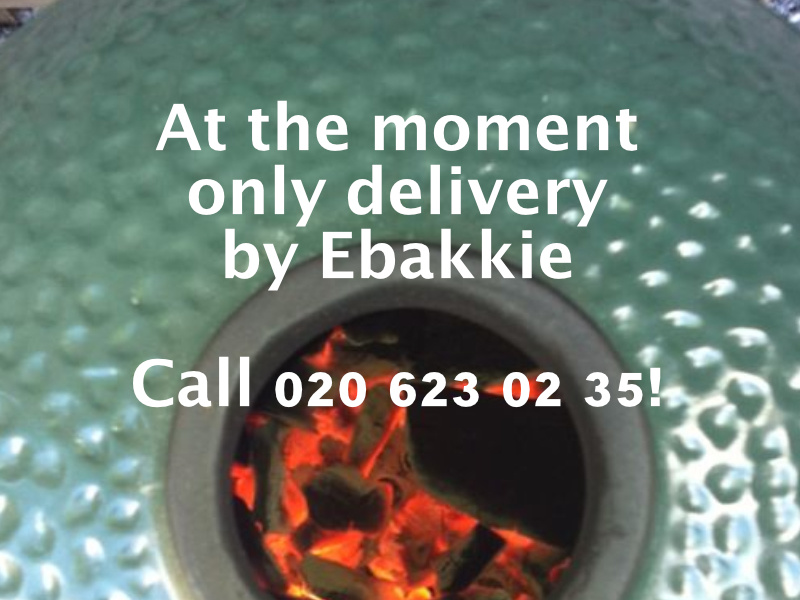 At the moment only delivery by Ebakkie