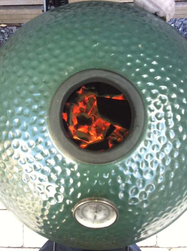 Big Green Egg BBQ barbecue