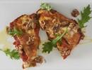 Cannelloni ricotta/cavolo nero/ taleggio/tomaat (VEGA)