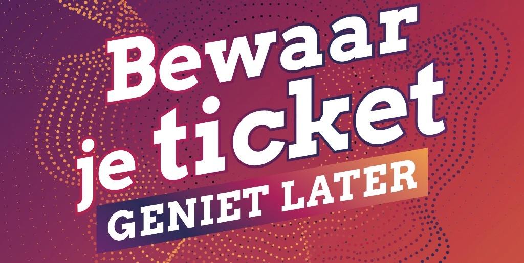 Bewaar je ticket