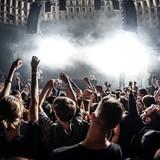 Rotterdam Rave Indoor By Night