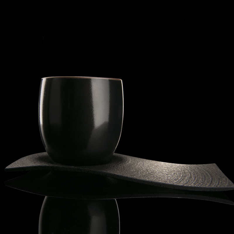 Chushin Kobo Set - Porzellan und Gusseisen