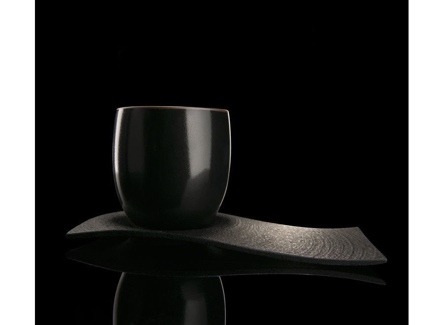 Chushin Kobo set - Porselein en gietijzer