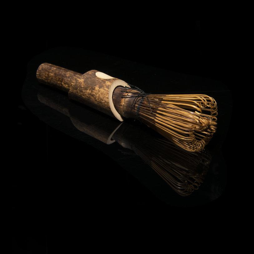 Luxe bamboe matcha klopper