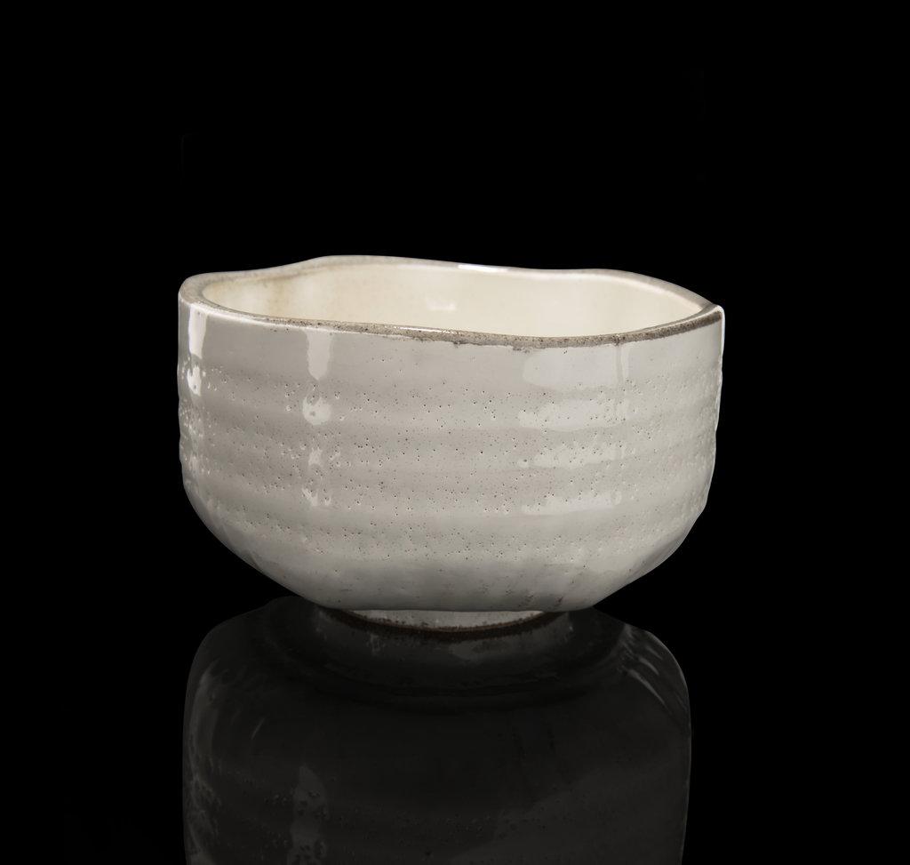Handmade Matcha bowl white