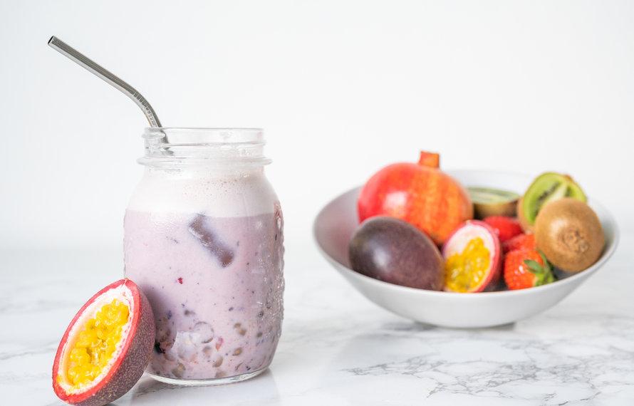 Ice tea recept: Bubble tea met Tutti Frutti