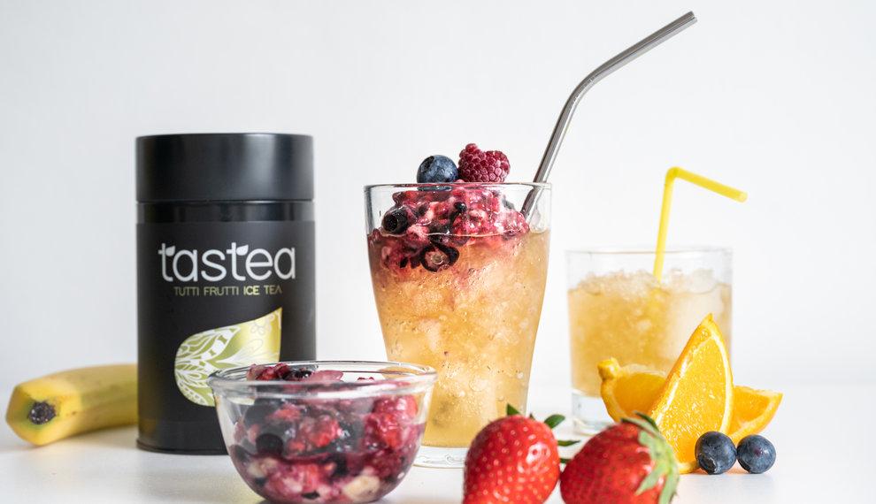 Ice tea recept: Tutti Frutti Crushed ice tea