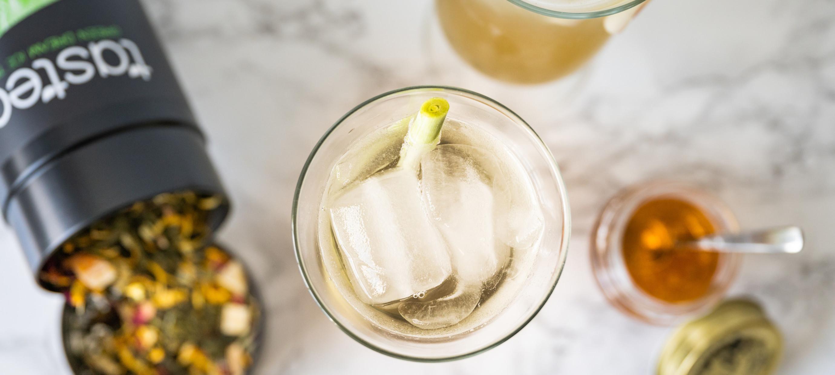 Ice tea recipe: Green Dream Cold Brew