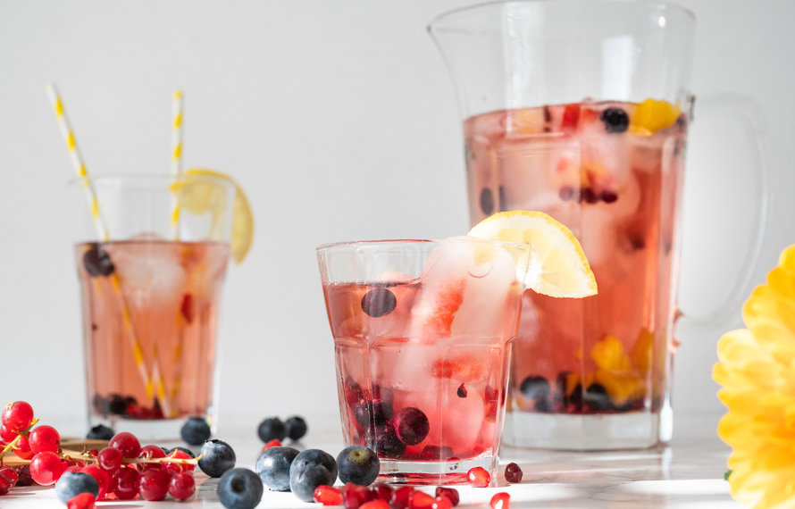 Ice Tea Rezept: Sunset Ice tea Cold Brew