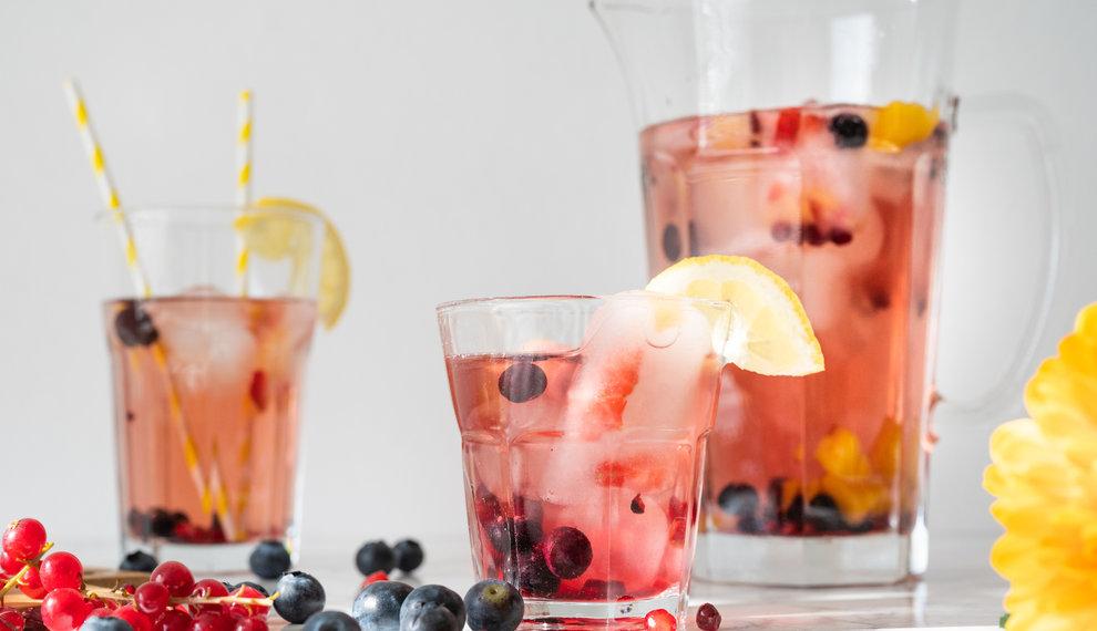 Ice tea recipe: Sunset Ice tea Cold Brew