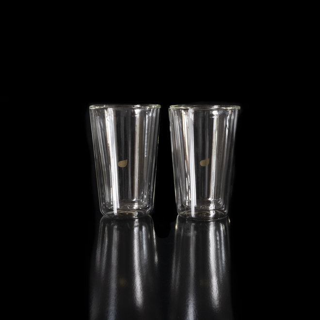 Dubbelwandig glas 2 stuks