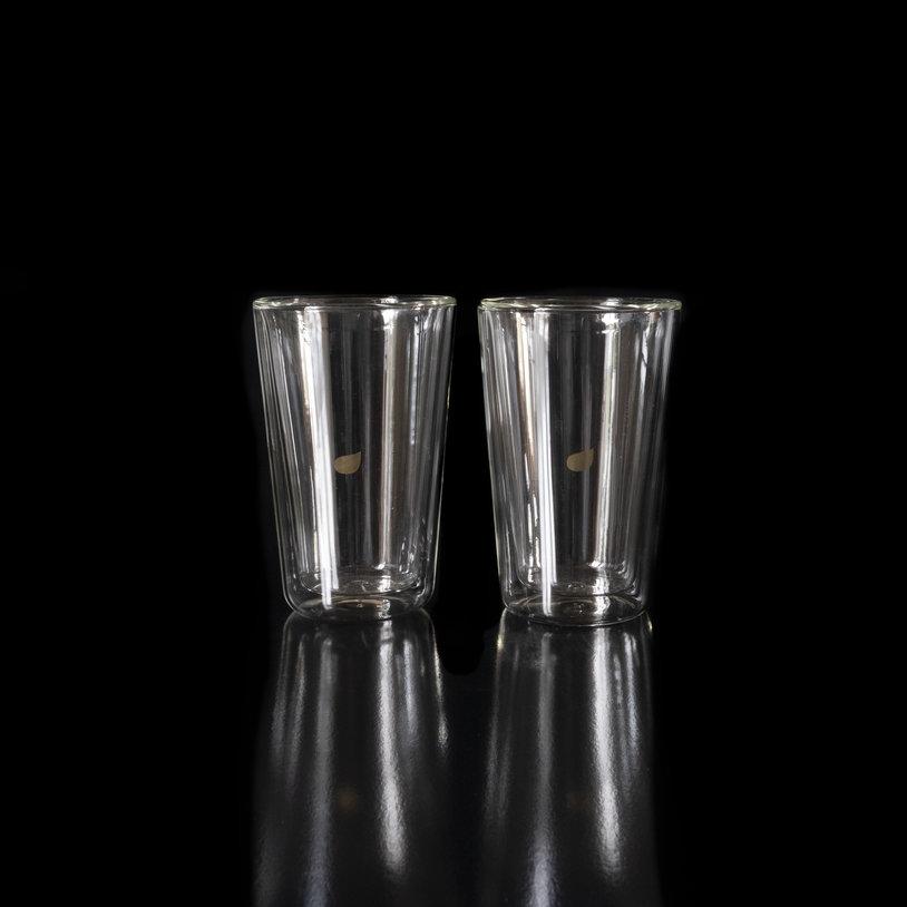 Doppelwandiges Glas 2 Stück