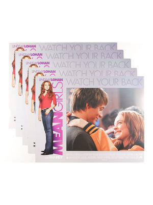 EYE Filmmuseum Mean Girls - 5 Lobby cards