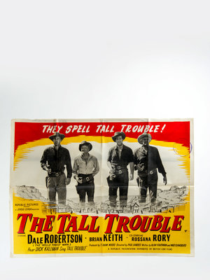 EYE Filmmuseum Filmposter 'the tall trouble'