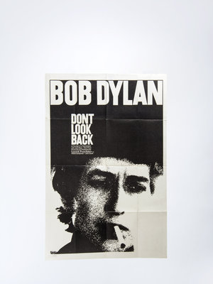 "EYE Filmmuseum Filmposter ""don't look back"""