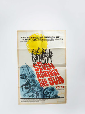 EYE Filmmuseum Filmposter 'Seven against the sun'