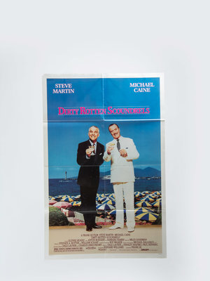 EYE Filmmuseum Movie poster 'Dirty Rotten Scoundrels'