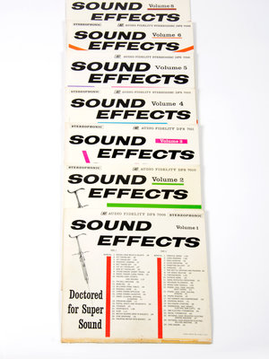 EYE Filmmuseum Soundeffects LP's, 1960-1965