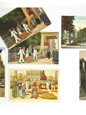 Amsterdam Pipe Museum Postcards Dutch cities
