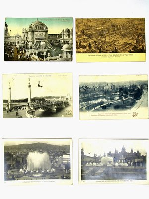 Amsterdam Pipe Museum Postcards various world exhibitions