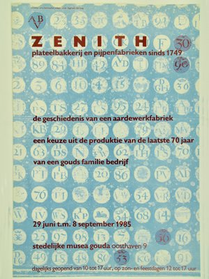Amsterdam Pipe Museum Poster Zenith pipes