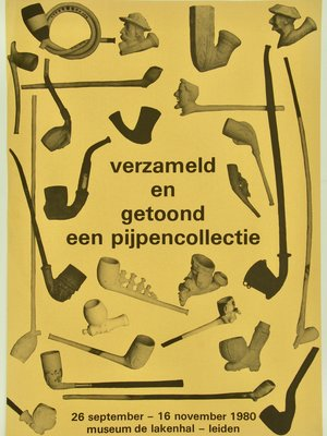Amsterdam Pipe Museum Poster Leiden & collection Berg