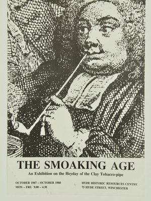 Amsterdam Pipe Museum Affiche Smoking Age