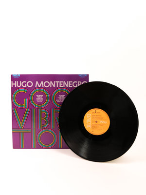 EYE Filmmuseum Vinyl records Good Vibrations by Hugo Montenegro