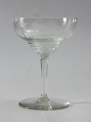 Amsterdam Pipe Museum Late 19th century champagne glasses
