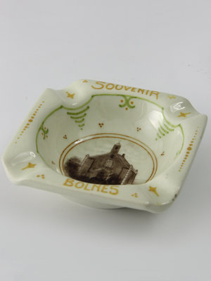 Amsterdam Pipe Museum Plate ashtray