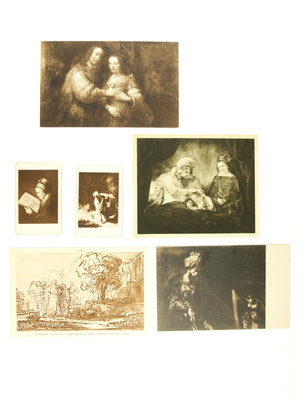 Bijbels Museum Cards of paintings by Rembrandt