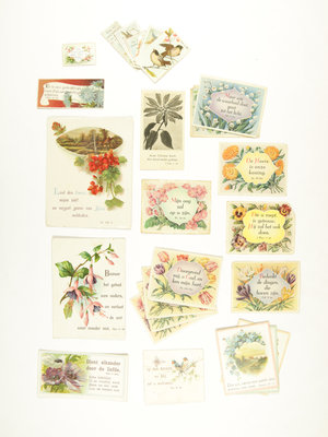 Bijbels Museum Biblical stamps flowers & birds