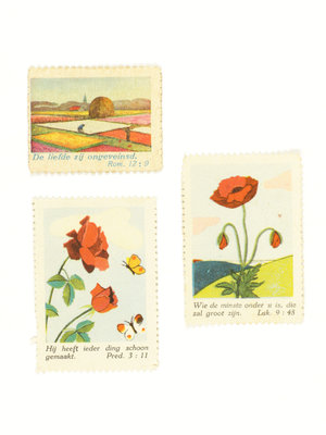 Bijbels Museum Biblical stamps flowers