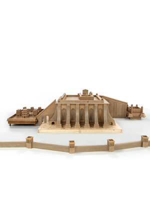Bijbels Museum Model of Solomon's Temple, 1985-1989