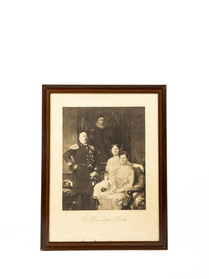 Verhalenwerf Framed photo royal family