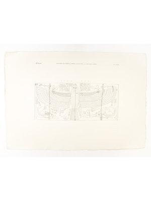 Rijksmuseum van Oudheden Lithograph inner coffin Amenhotep