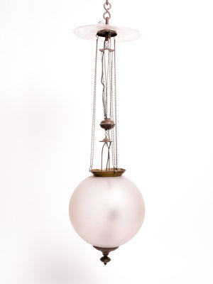 Bijbels Museum Spherical pendant light