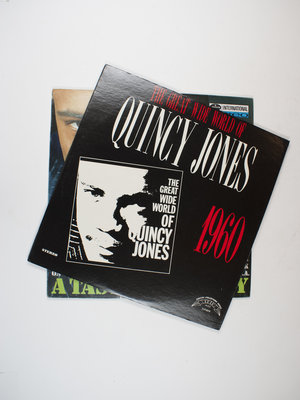 EYE Filmmuseum Twee Quincy Jones LP's