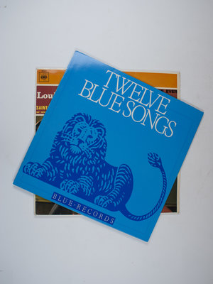 EYE Filmmuseum Louis Armstrong en Twelve Blue Songs LP's