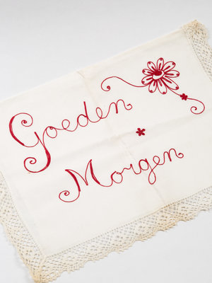 Verhalenwerf Embroidered pillowcases