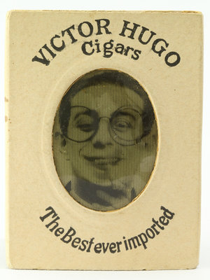 Amsterdam Pipe Museum Cigar plate with magic picture